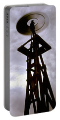 Portable Battery Charger featuring the photograph A Storm This Way Comes by Jason Politte