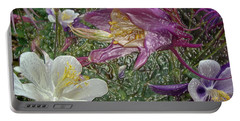 a taste of dew i do and PCC  garden too     GARDEN IN SPRING MAJOR Portable Battery Charger