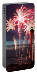 A Three Burst Salvo Of Fire For The Fourth Of July Portable Battery Charger