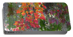 A Touch Of Autumn Portable Battery Charger by Mariarosa Rockefeller