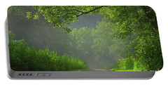 A Touch Of Green II Portable Battery Charger by Douglas Stucky