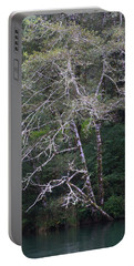 A Tree Along The Oregon Coast Portable Battery Charger by Tom Janca