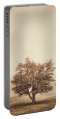 A Tree In The Fog Portable Battery Charger
