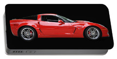 A Very Red Corvette Z6 Portable Battery Charger