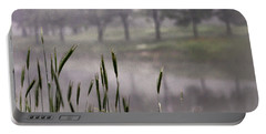 Portable Battery Charger featuring the photograph A View In The Mist by Bruce Patrick Smith