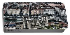 Portable Battery Charger featuring the photograph A View Of Vienne France by Tom Prendergast