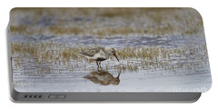 A Wading Dunlin Portable Battery Charger