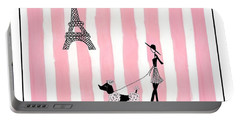 A Walk In Paris Portable Battery Charger