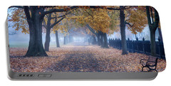 A Walk In Salem Fog Portable Battery Charger