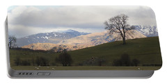 Portable Battery Charger featuring the photograph A Walk In The Countryside In Lake District England by Tiffany Erdman