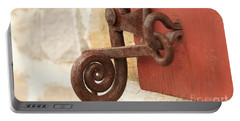 A Window Latch Portable Battery Charger by Kerri Mortenson