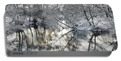 A Winter Scene Portable Battery Charger