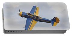 A Yakolev Yak-52 Plane Flying Portable Battery Charger