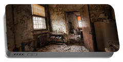 Abandoned Asylum - Haunting Images - What Once Was Portable Battery Charger