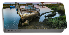 Abandoned Fishing Boat II Portable Battery Charger