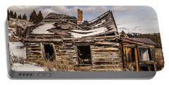 Portable Battery Charger featuring the photograph Abandoned Home Or Business by Sue Smith