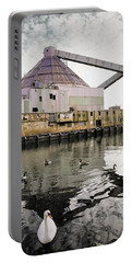abandoned - Industrial - Swan song Portable Battery Charger