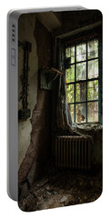 Abandoned - Old Room - Draped Portable Battery Charger