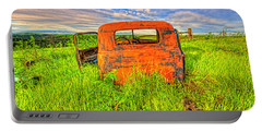 Abandoned Rusting Truck Portable Battery Charger