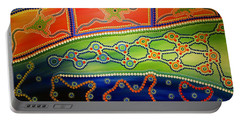 Original Sold Aboriginal Inspirations 7 Portable Battery Charger