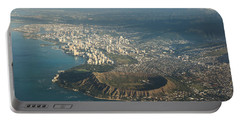 Portable Battery Charger featuring the photograph Above Hawaii by Georgia Mizuleva