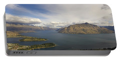 Above Queenstown #2 Portable Battery Charger by Stuart Litoff