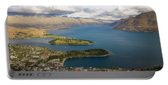 Above Queenstown Portable Battery Charger by Stuart Litoff