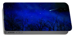 Above The Treetops Wall Mural Portable Battery Charger by Frank Wilson