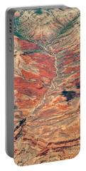 Portable Battery Charger featuring the digital art Above Timber Line by Mae Wertz