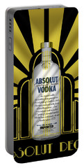 Absolut Deco Portable Battery Charger
