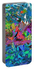 Portable Battery Charger featuring the digital art Abstract 011515 by David Lane