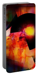 Portable Battery Charger featuring the digital art Abstract 012615 by David Lane