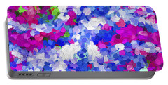 Abstract Artwork 02 Portable Battery Charger