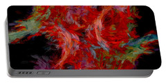 Abstract Artwork 08 Portable Battery Charger