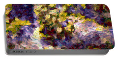 Abstract Artwork 10 Portable Battery Charger