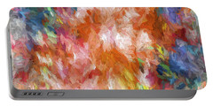Abstract Artwork 19 Portable Battery Charger