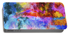 Abstract Artwork 20 Portable Battery Charger