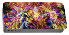 Abstract Artwork 21 Portable Battery Charger