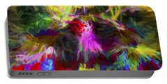 Abstract Artwork 22 Portable Battery Charger