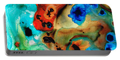 Abstract 4 - Abstract Art By Sharon Cummings Portable Battery Charger