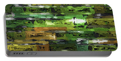 Abstract Artwork A4 Portable Battery Charger