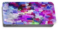 Abstract Artwork A7 Portable Battery Charger