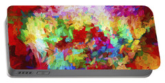 Abstract Artwork A8 Portable Battery Charger