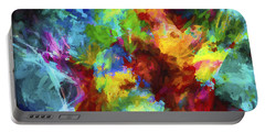 Abstract Artwork A9 Portable Battery Charger