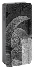 Abstract Arches Colosseum Mono Portable Battery Charger