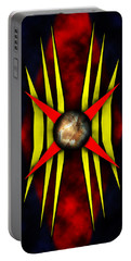 Abstract Art 5 Portable Battery Charger