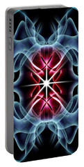 Abstract Art 8 Portable Battery Charger