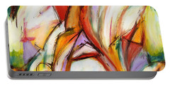 Abstract Art Forty-five Portable Battery Charger