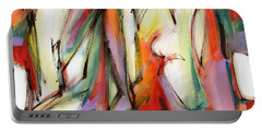 Abstract Art Forty-six Portable Battery Charger