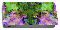 Abstract Artwork B4 Portable Battery Charger